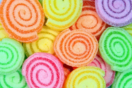 Colorful candy on a background.  photo