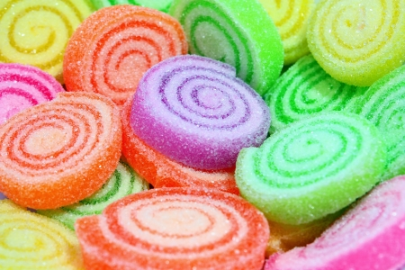sugar paste: Colorful candy on a background.