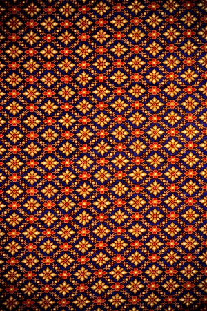 Thai vintage pattern and abstract background. photo
