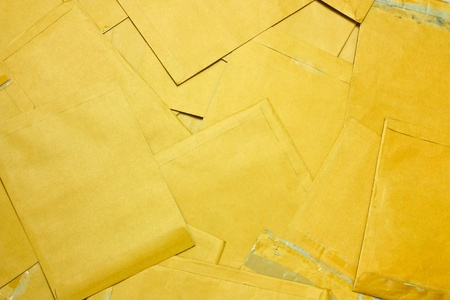 Brown Envelope document background Stock Photo - 10190266