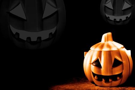 Halloween pumpkins Stock Photo - 10919075