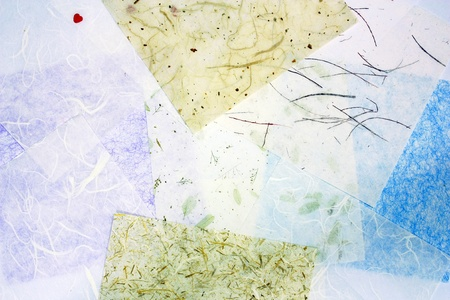 handmade mulberry paper texture  photo