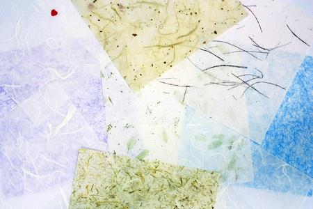 handmade mulberry paper texture Stock Photo - 11544571