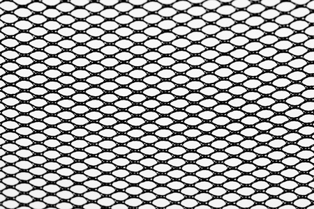 wire fence isolated on white  photo