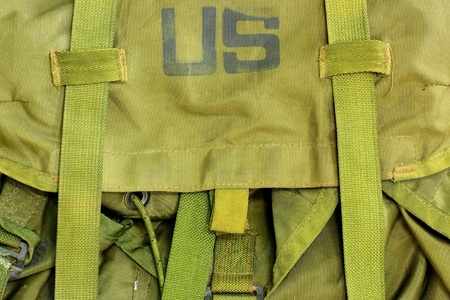 duffle: Army bag soldier Stock Photo