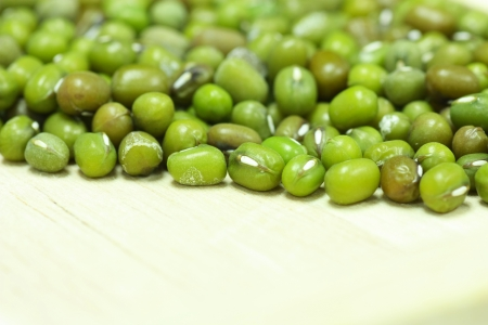 mung: Mung beans Stock Photo