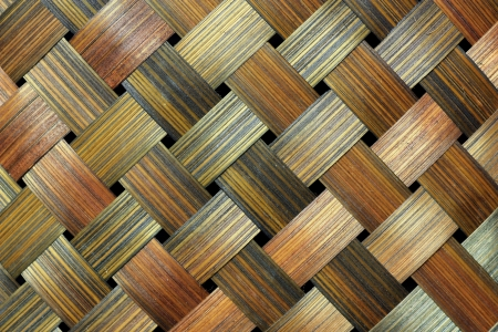a house with a straw: bamboo handcraft texture
