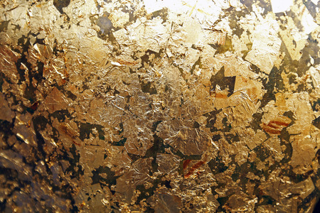 The gold leaf. For the background and textures.