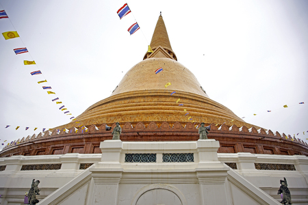 scriptures: Phra Pathommachedi mThe stupa at the location is first mentioned in Buddhist scriptures