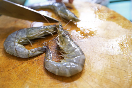 freshwater: Giant freshwater prawn Stock Photo