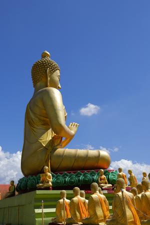 Buddha park Buddhist monument,Nakhon Nayok Memorial Buddha stature Pang patron 1,250 for the saints
