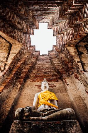 nakhon: Wat Nakhon Luang Tample,Prasat Nakhon Luang in Ayutthaya,Thailand,public domain or treasure of Buddhism