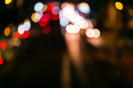 background of defocused abstract lights.bokeh lights Stock Photo