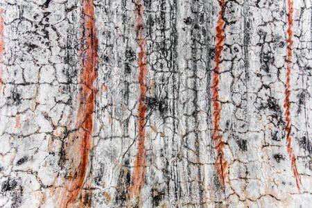 cracked concrete vintage brick wall background 免版税图像