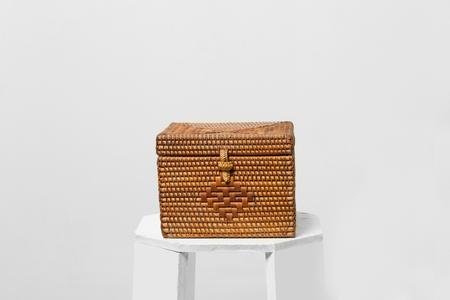 A bamboo box