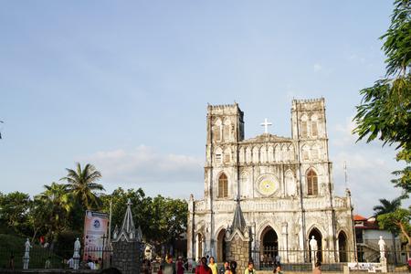 Phu Yen, Viet Nam - August 11, 2017. Editorial: Mang Lang Church at Phu Yen, Viet Nam.