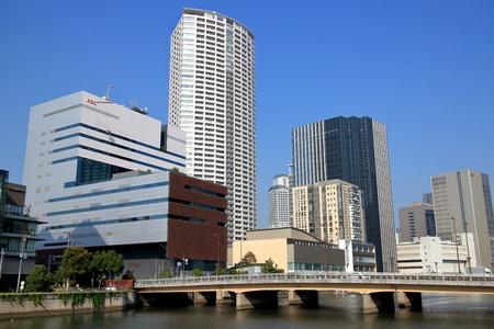 firefly: Osaka tamae bridge and Firefly town