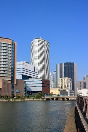 firefly: Osaka dojima River and Firefly town