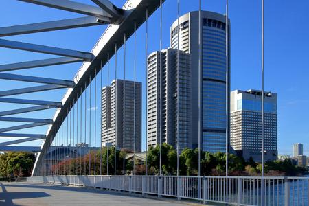oap: Osaka Sakuranomiya bridge and OAP