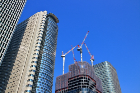 In the construction of high-rise buildings