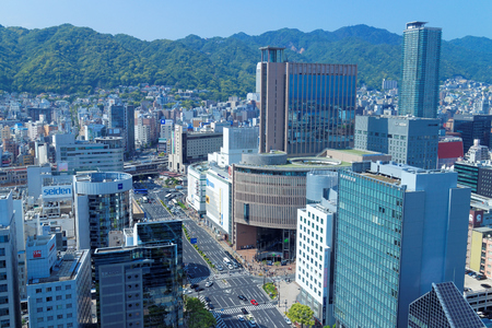 Scenery from the Kobe-shi government office