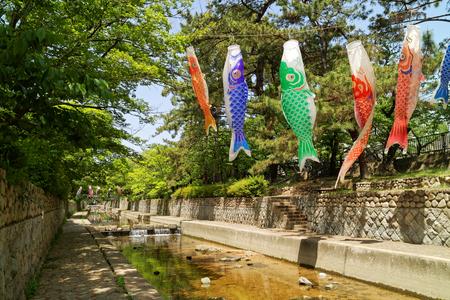 City of Nishinomiya Stock Photo