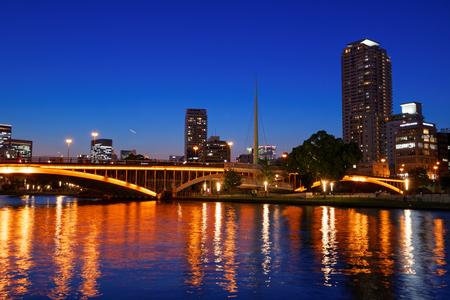 日本: 大阪市の中之島