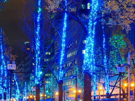 OSAKA Midosuji illumination