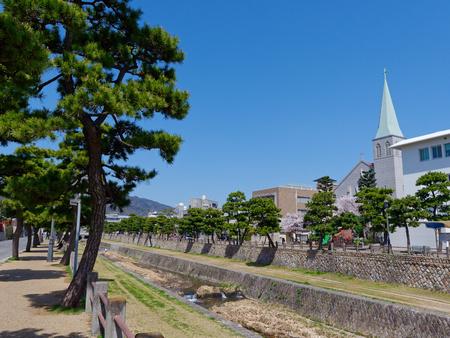 River, Hyogo Ashiya, Ashiya and Catholic Ashiya