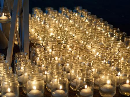 Osaka Nishi-Umeda 1,000,000 person candle night