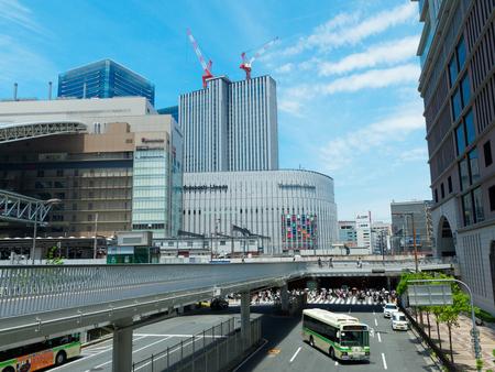 Osaka Umeda New Footbridge and Route 176
