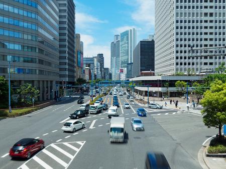 Osaka Umeda Shinmithi Intersection