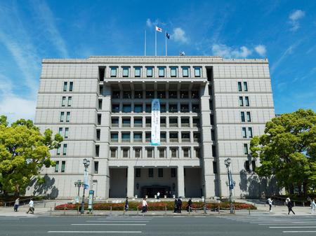 Osaka City Hall and Midosuji