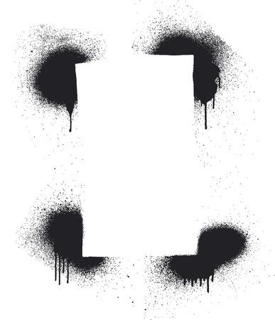 stencil: stencil inky frame