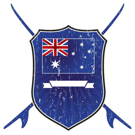 surf team: australian grunge surf shield
