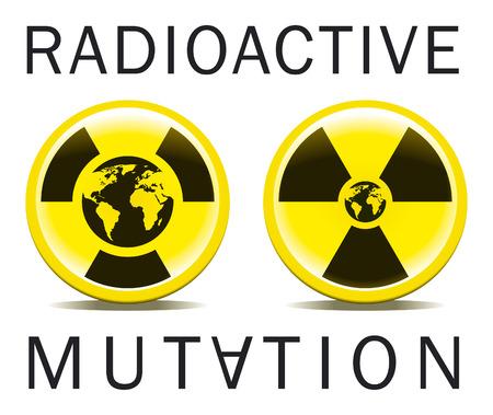 technological evolution: vector of radioactive mutation world