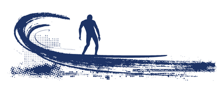tabla de surf: surfista tabla larga ola oleoducto deslizamiento