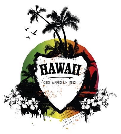 tabla de surf: Blindaje de la resaca de Hawaii