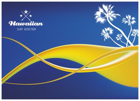 tabla de surf: de surf hawaiano apego blanco