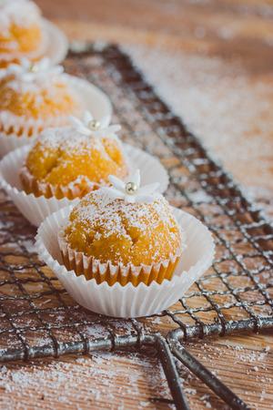 Fresh muffins photo