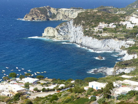 Bay in the island of Ponza in Italy.