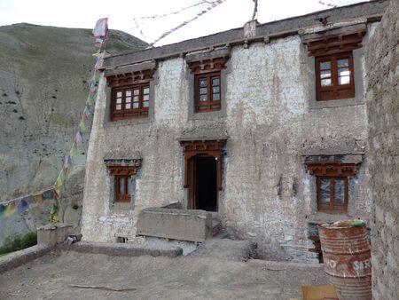 Mountain refuge in Ladakh in India.