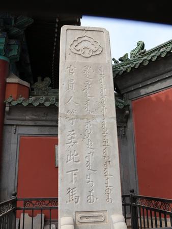 stele: Dismounting stele Editorial