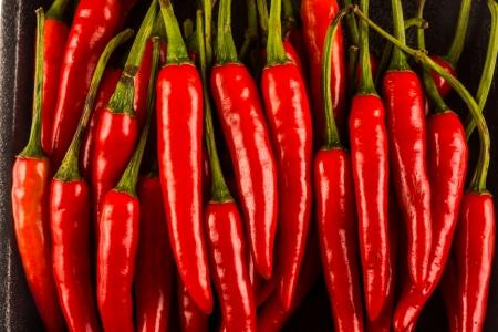 Pile of chilli photo