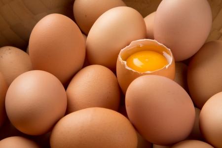 Pile of eggs photo