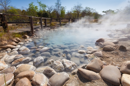 Hotspring Stock Photo