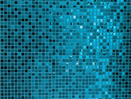 pool party: Blue mosaic texture