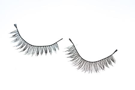 eye lash: false eye lash Stock Photo