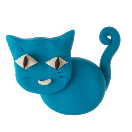 Modelling Clay Cat Stock Photo Picture And Royalty Free Image 25004310