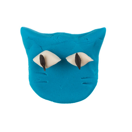 modelling clay cat photo